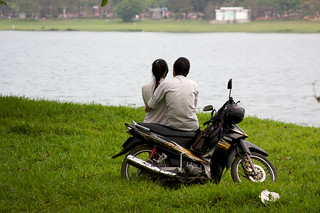 Motorbike Couple | by katinalynn
