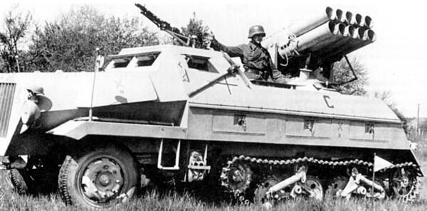 Sd.Kfz.4 Panzerwerfer