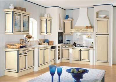 Cucina in muratura ad angolo in decapè | Classica cucina cou… | Flickr