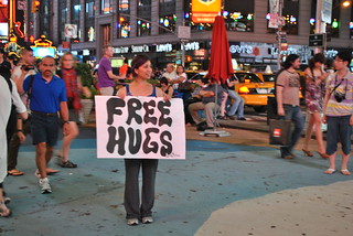 free hugs on Times Square | by innese
