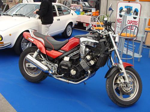 Yamaha Fzx  Cafe Racer