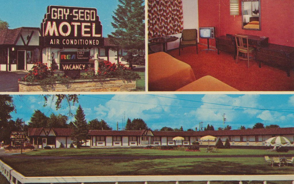 Gay-Sego Motel - Gaylord, Michigan