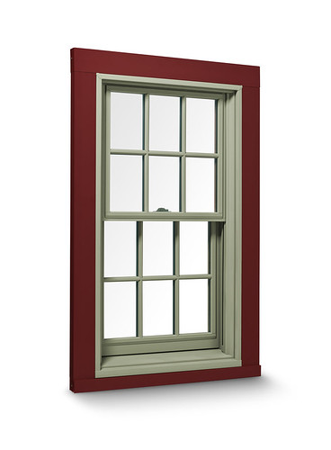 400 Series Double Hung Window With Exterior Trim