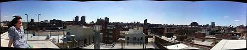 Perfect day for a New York roofdeck. | by .A.A.