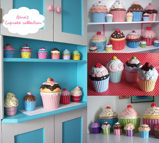 Gina's Cupcake Collection for Blog | by Jessie {Creating Happy}