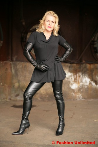 Crotch Boots And Leather Gloves Fashion Unlimited Flickr