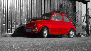 A Little Red Car | by mokastet