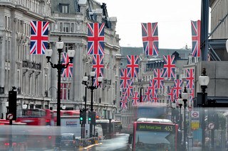 Union Flags in Regent Street | by andrewtijou