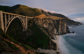 Bixby Bridge at Sunset | by andreaskoeberl