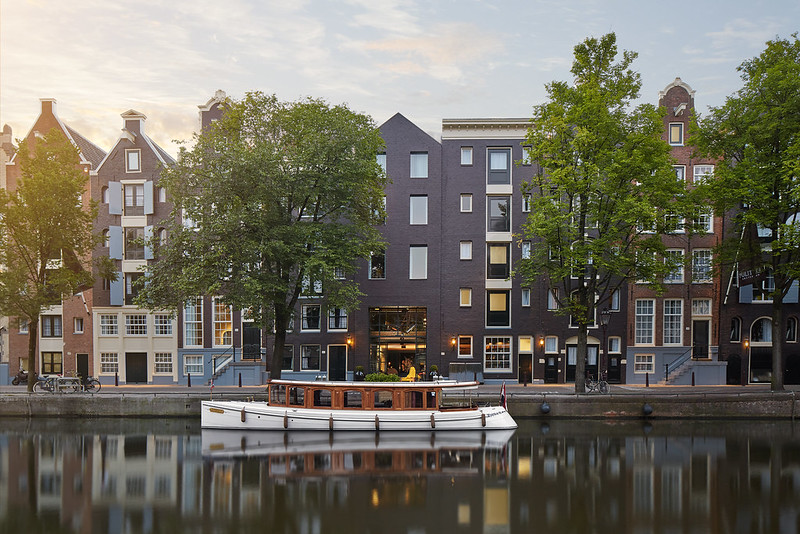 Exterior of the Hotel Pulitzer Amsterdam