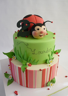 lady bug | by Tuff Cookie cakes by Sylvia