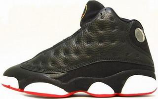 Jordan Black Shoe Red Bottom White Insid