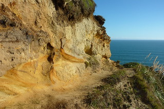 Exposed sand cliffs along the trail | by loveexploring