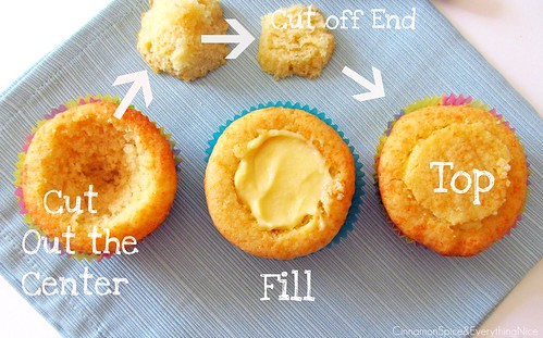 Boston Cream Pie Cupcakes (How to fill) | by CinnamonKitchn