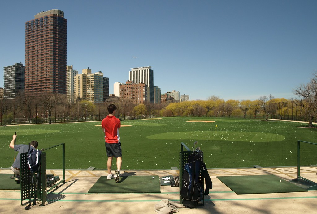 Image result for lincoln playground diversey driving range
