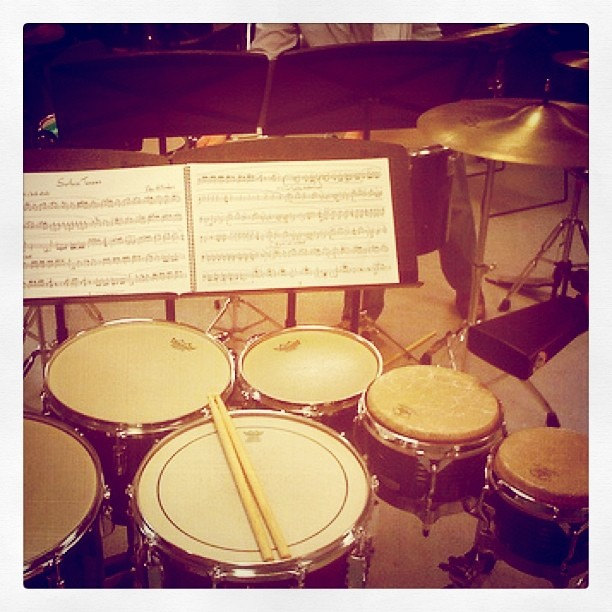 Miss playing multipercussion repertoire with some good dud