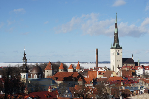 Towers of Old Town in Tallinn | by tarmo888