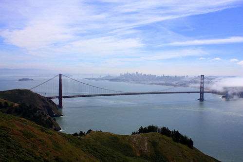 Golden Gate from Marin Headlands | by Ray Bouknight