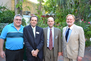 Mike Chionoupolos, Joe Simpson, j.Tom Smoot, and Agnew | by Lee County Bar Association