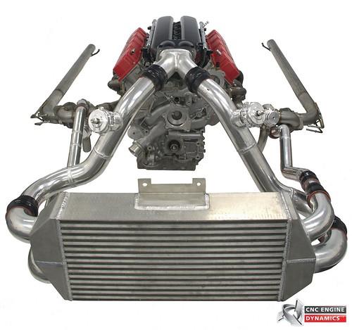 Ar Precision Turbo Vicenza: Pre-production Viper Twin Turbo Kit