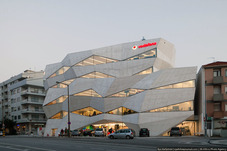 Great ... Vodafone Head Office In Portugal | By Varlamov Ideas