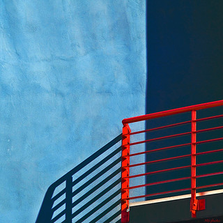 Red on Blue | by Mario Curci