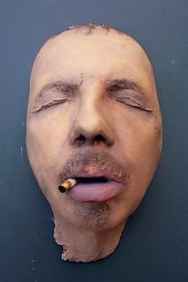 Trucco cinematografico calco dal vivo di una testa for Calco con alginato