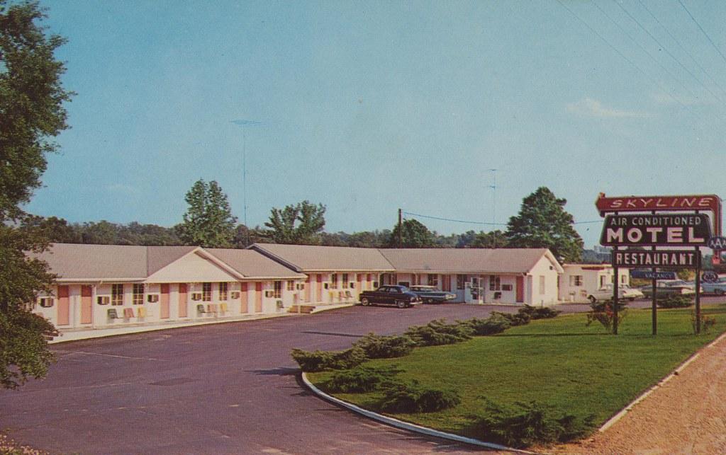 Skyline Motel & Restaurant - Batesville, Mississippi