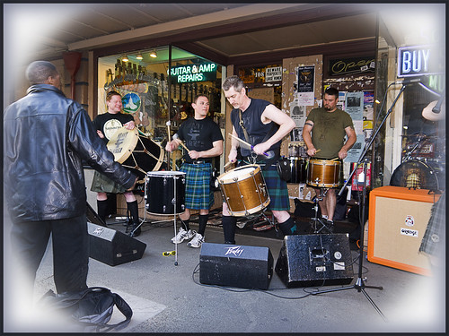 kilted oly band | by Martin's Pixels & Words & Resistance