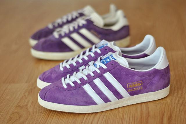 adidas gazelle og purple