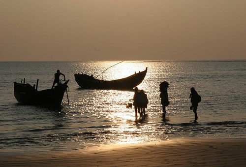 Bangladesh  - St Martin's island - boats
