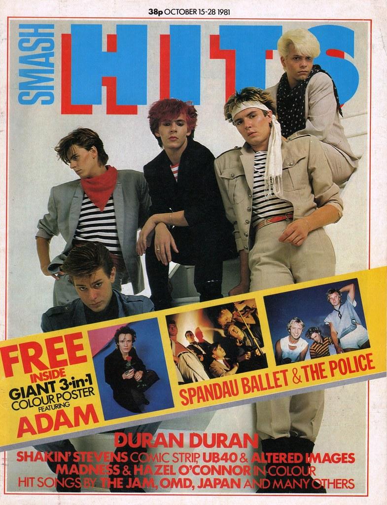 Smash Hits October 15 28 1981 Flickr