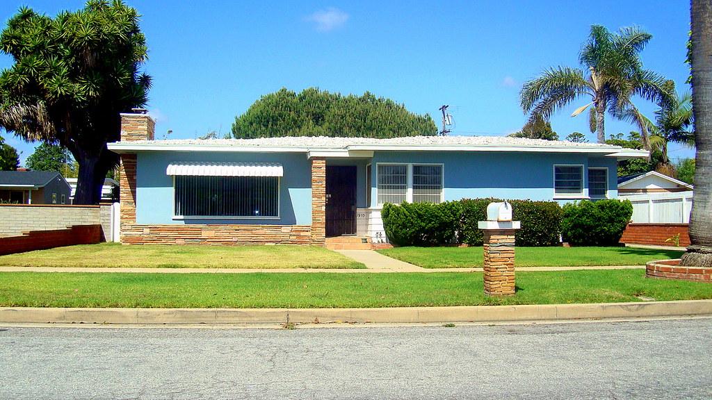 Mid Century Ranch fab mid-century ranch house, freeman street, oceanside ca | flickr