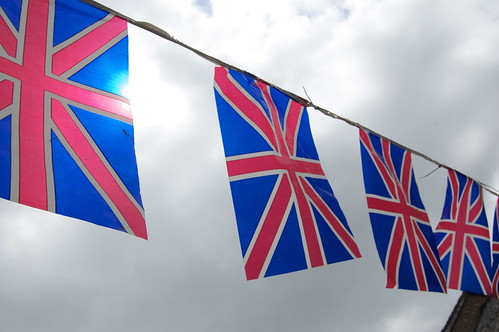 Garden party flags