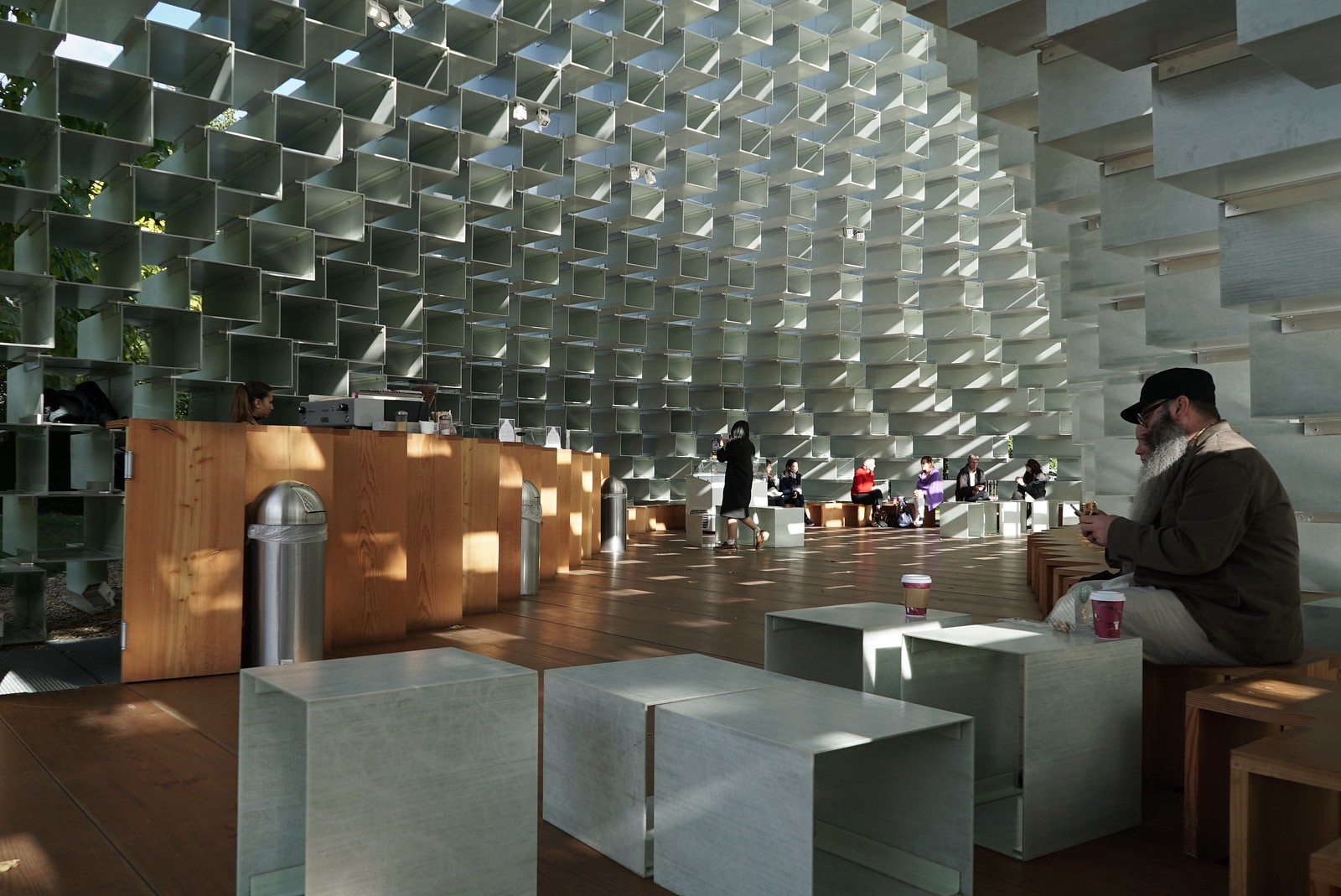 Serpentine Pavilion 2016 by Bjarke Ingels Group (BIG)