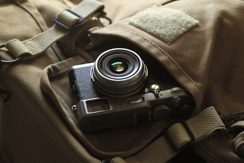Fuji Finepix X100 retro camera | by PC Advisor Magazine
