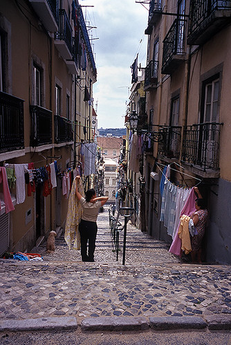 On the street in Lisbon / На улице в Лиссабоне | by AndreyY