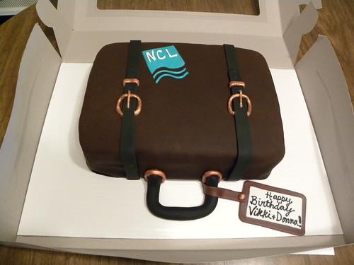 Norwegian Cruise Line Birthday Cake