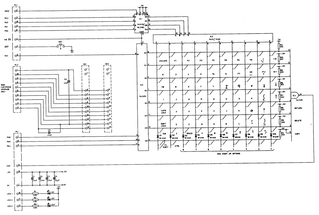 Keyboard Wiring Diagram - Electrical Drawing Wiring Diagram •