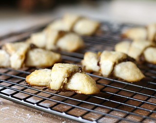 Apricot Walnut Rugelach | by Elissa @ 17 and Baking