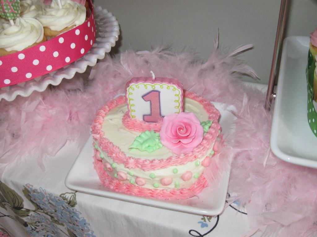 Stupendous Shabby Chic Birthday Cake Aprildawn8 Flickr Personalised Birthday Cards Vishlily Jamesorg