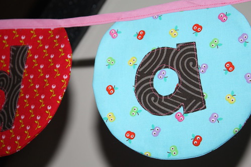 birthday banner | by Sew Peachey
