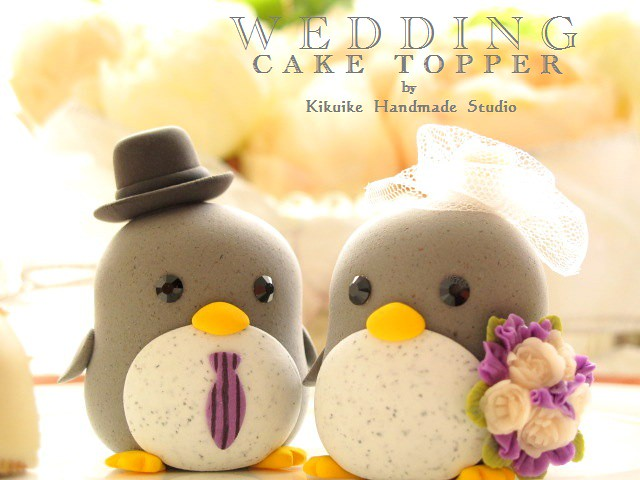 Special Edition----Wedding Cake Topper-love penguin | Flickr
