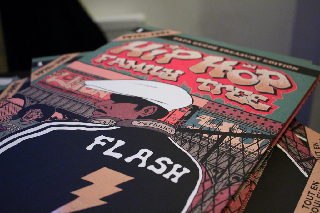 Hip Hop Family Tree aux éditions Papa Guédé