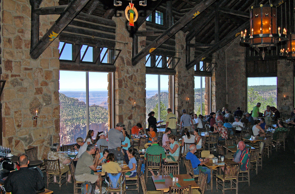 el tovar dining room.  Grand Canyon Lodge North Rim 0184 by NPS Dining Room Canyo Flickr