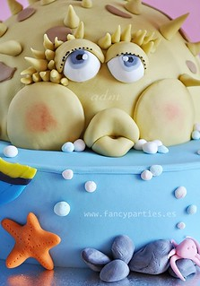 Nemo, Dori and Puffer fish Sea Cake 4/4 | by Fancy Parties