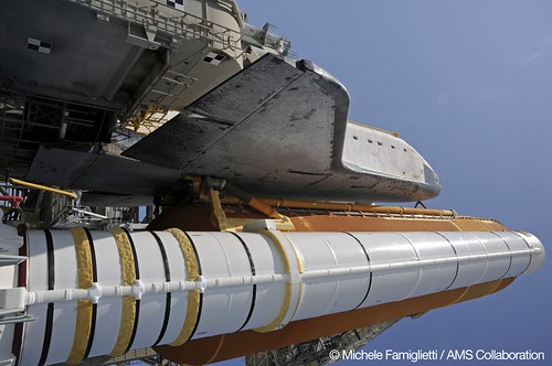 07 - Endeavour at Launch Pad - Photo Credit: Michele Famiglietti AMS-02 Collaboration | by ams02web