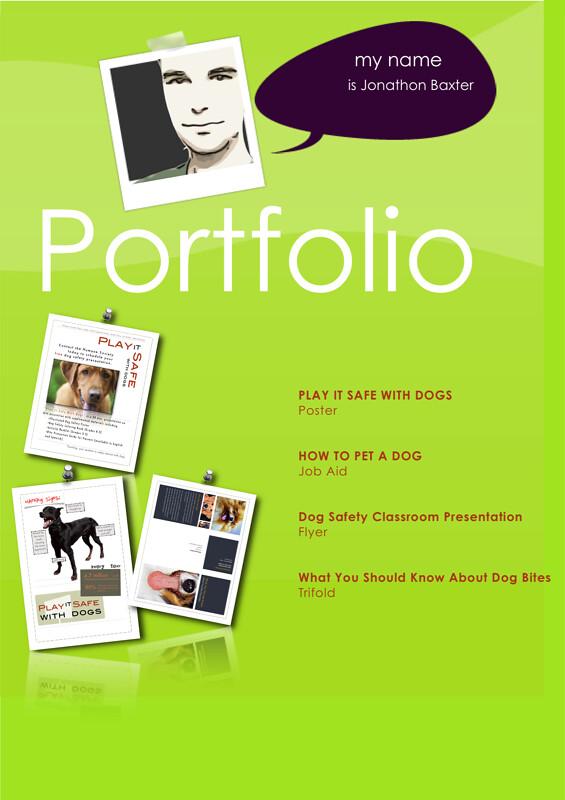 Instructional Design Portfolio Cover The Cover Of A Portf Flickr