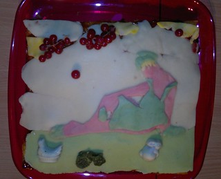 Cake Nappe De Fromage Petite Tomate Cerise Aneth