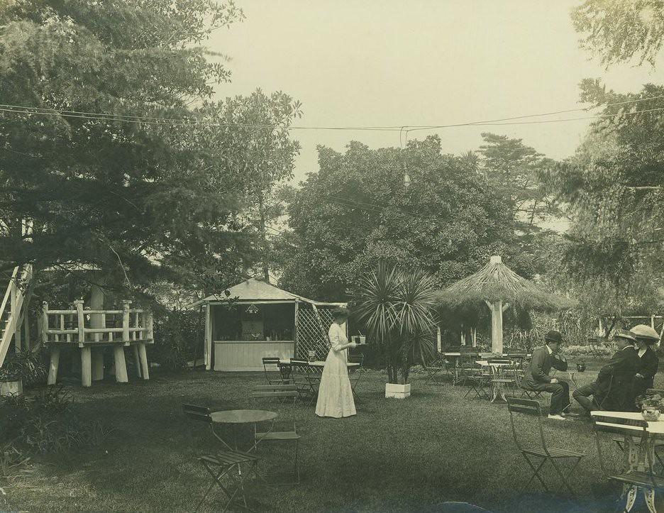 St Kilda tea garden   This view of the Oakrood Tea Gardens i…   Flickr